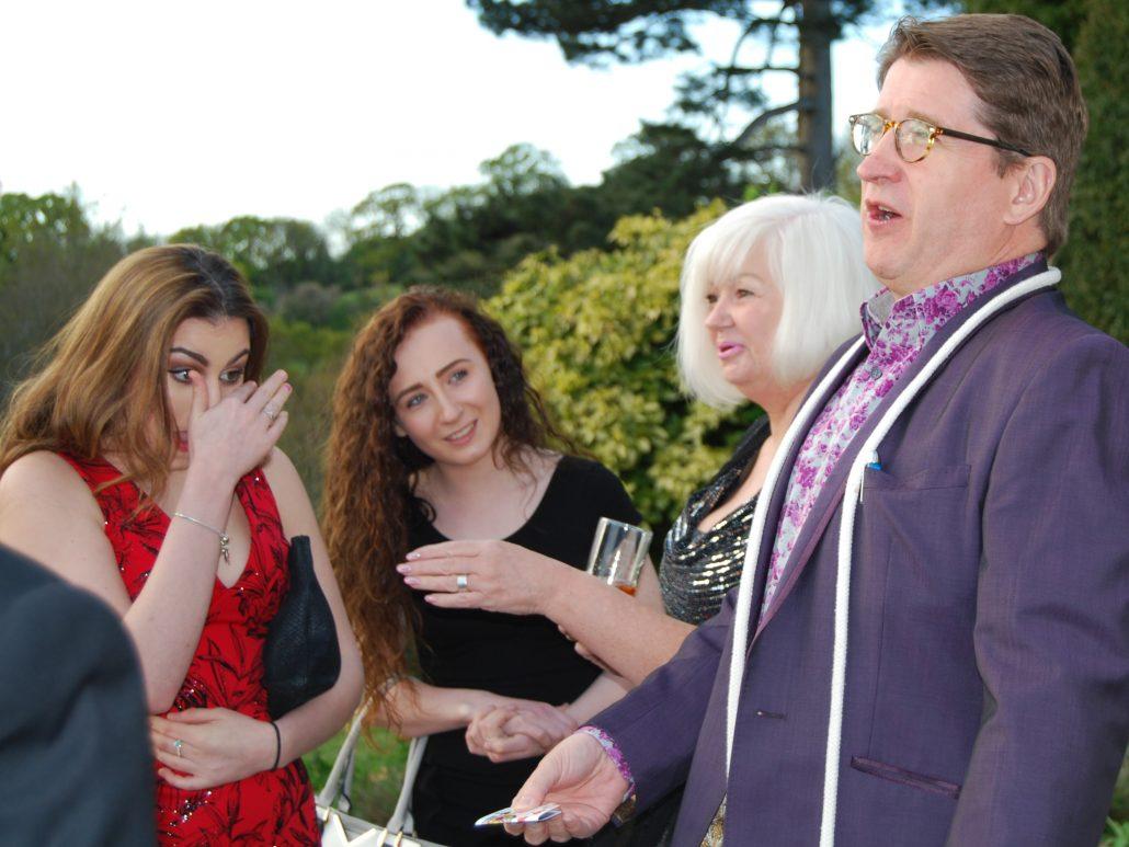wedding magician for Bath Bristol Gloucester Cheltenham