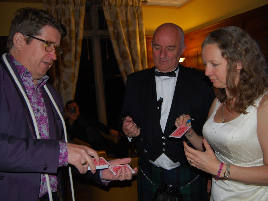 wedding magician gloucestershire